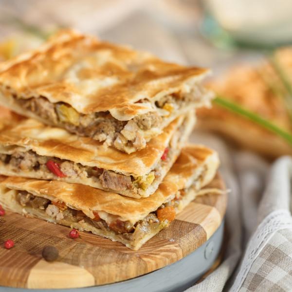 Пикантная свинина с болгарским перцем