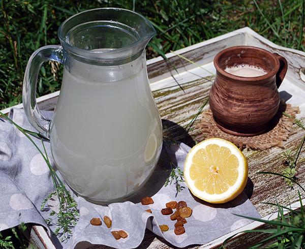 Квас Лимонный натурального брожения